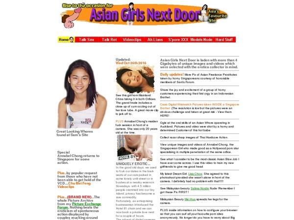 Asiangirlsnextdoor Webbilling
