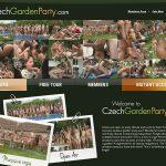 Czech Garden Party Porn Hub