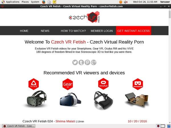 Czech VR Fetish Tubes