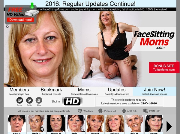 Face Sitting Moms Paypal Trial