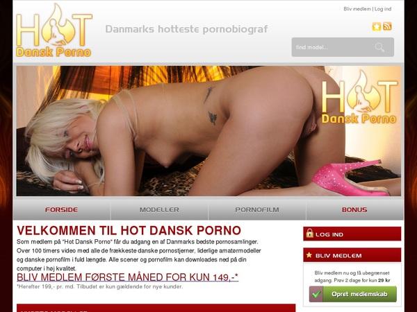 Free Account On Hotdanskporno.dk