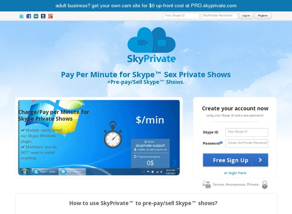 Free Skyprivate Accounts