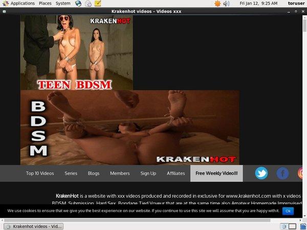 Free Working Kraken Hot Account