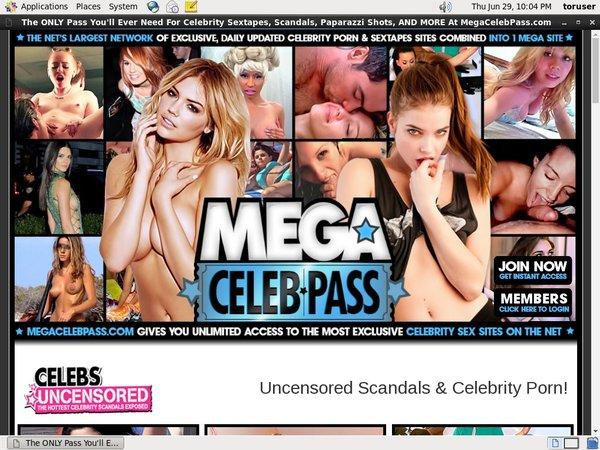 Megacelebpass Sign Up Link