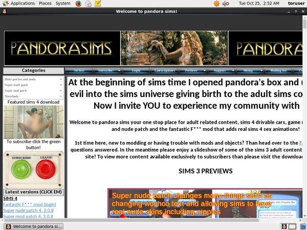 Pandora Sims Free Discount
