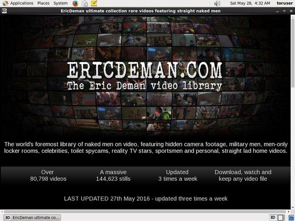 Pass For Eric Deman