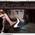 Shoe Dangling Girls Member