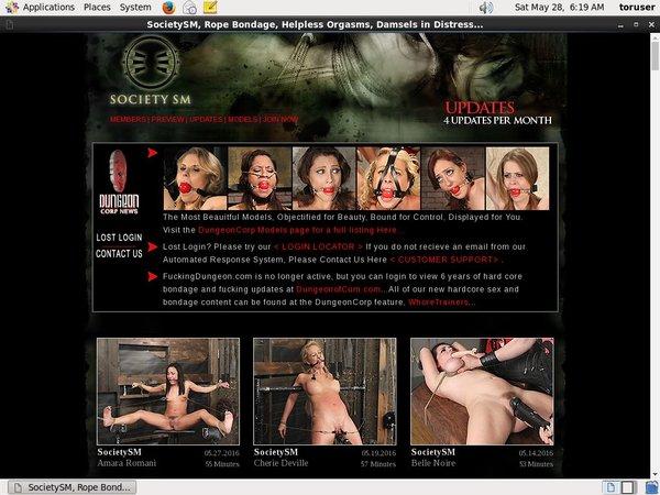 Society SM Sites