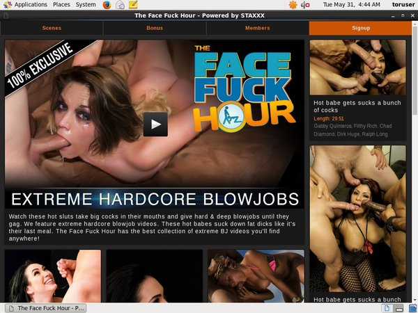The Face Fuck Hour Videos Free