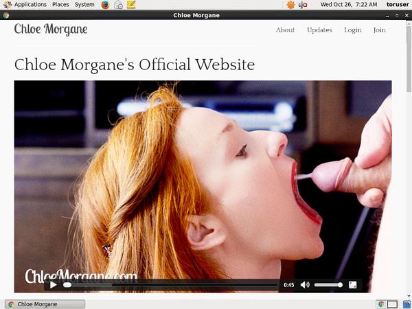 Chloe Morgane With AOL Account