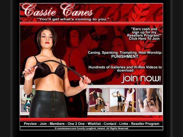 Free Cassie Canes Full