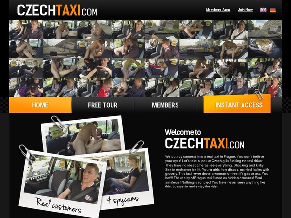 Free Czechtaxi.com Username And Password