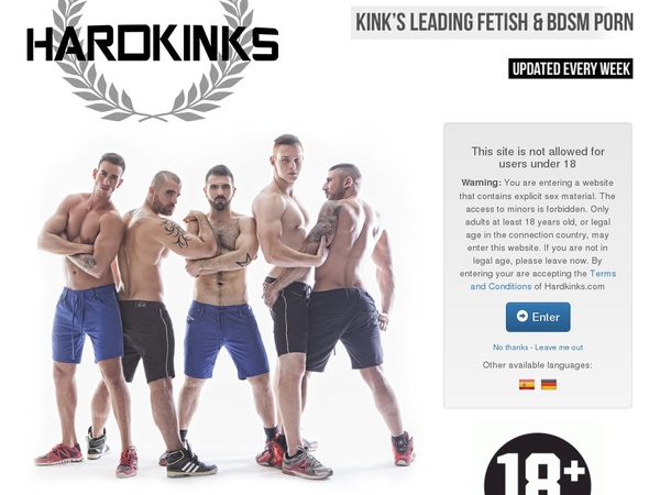 Hardkinks.com Discounts