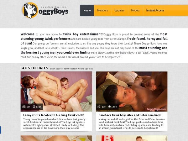 Paypal Signup Doggy Boys