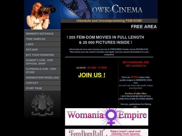 Owk Cinema Porno