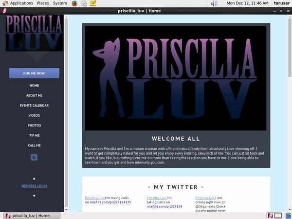 Priscilla Luv Pass Premium
