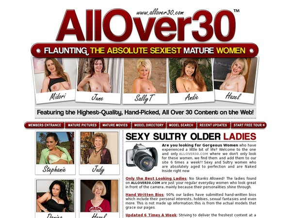 Allover30.com Hacked Account