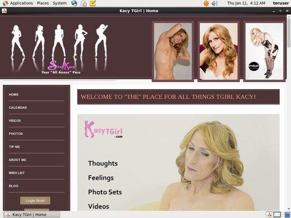 Free Premium Kacytgirl.com Accounts