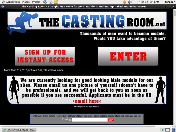 Free Thecastingroom.net Login Account