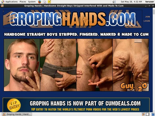 Buy Gropinghands Account