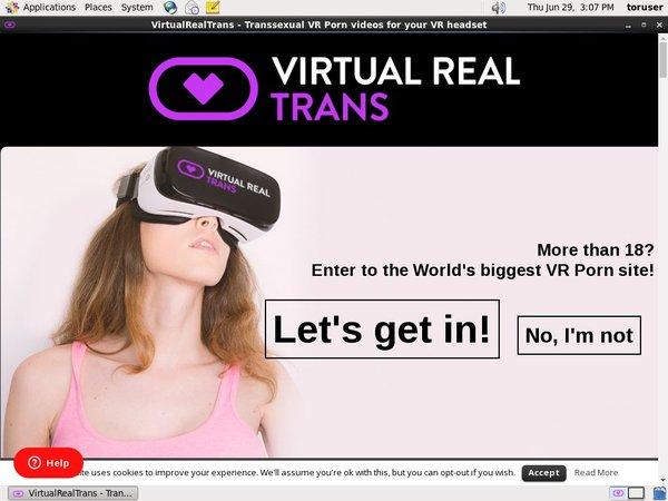 Free Accounts For Virtualrealtrans.com