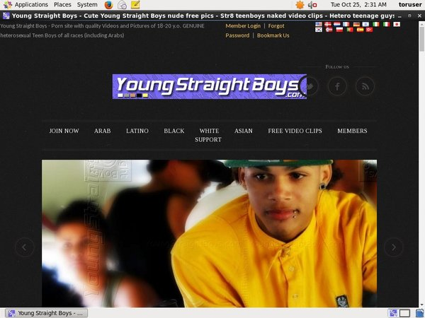 Free Accounts In Young Straight Boys