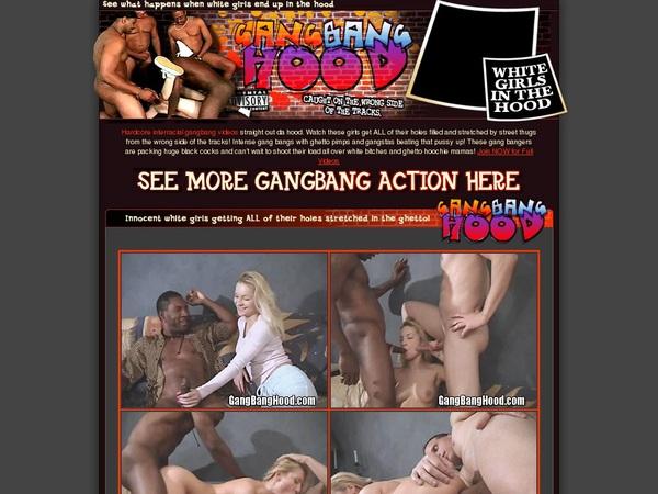 Gangbanghood.com With Bank Pay