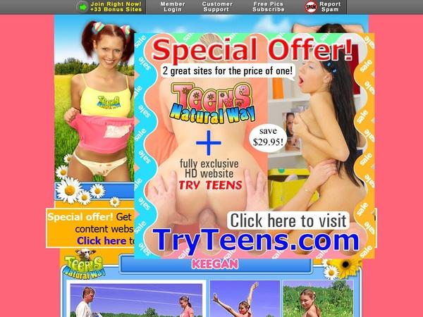 Make Teensnaturalway.com Account