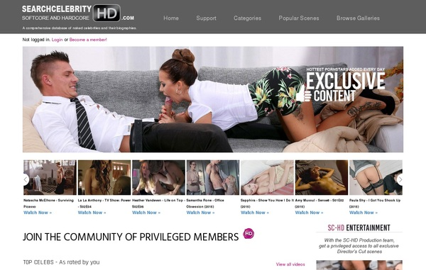 Search Celebrity HD Member Discount