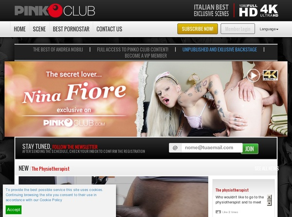Pinkoclub Paypal Sign Up