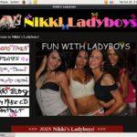 Nikki Ladyboys Membership Account