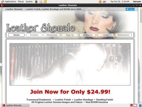 Leather Shemale Get Membership